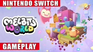 Melbits World Nintendo Switch Gameplay