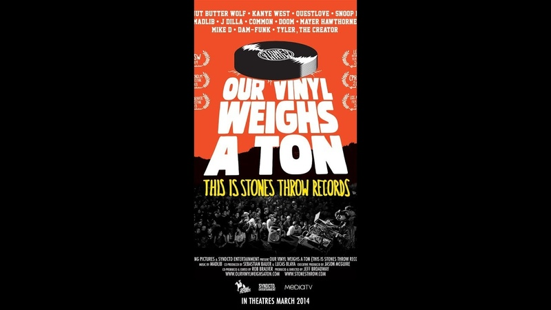 Our Vinyl Weighs a Ton • This Is Stones Throw Records