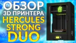 Обзор 3D принтера Hercules Strong DUO от 3Dtool   Конкурент Raise3D PRO2 ? Какой 3Д принтер выбрать