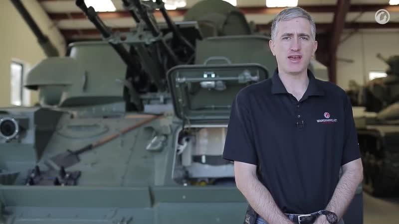 Загляни в реальную ЗСУ-23-4 'Шилка'. В командирской рубке [World of Tanks].mp4