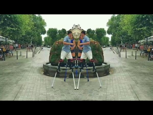 Ходулисты France Aix en Provence walking Театр на ходулях Чижики