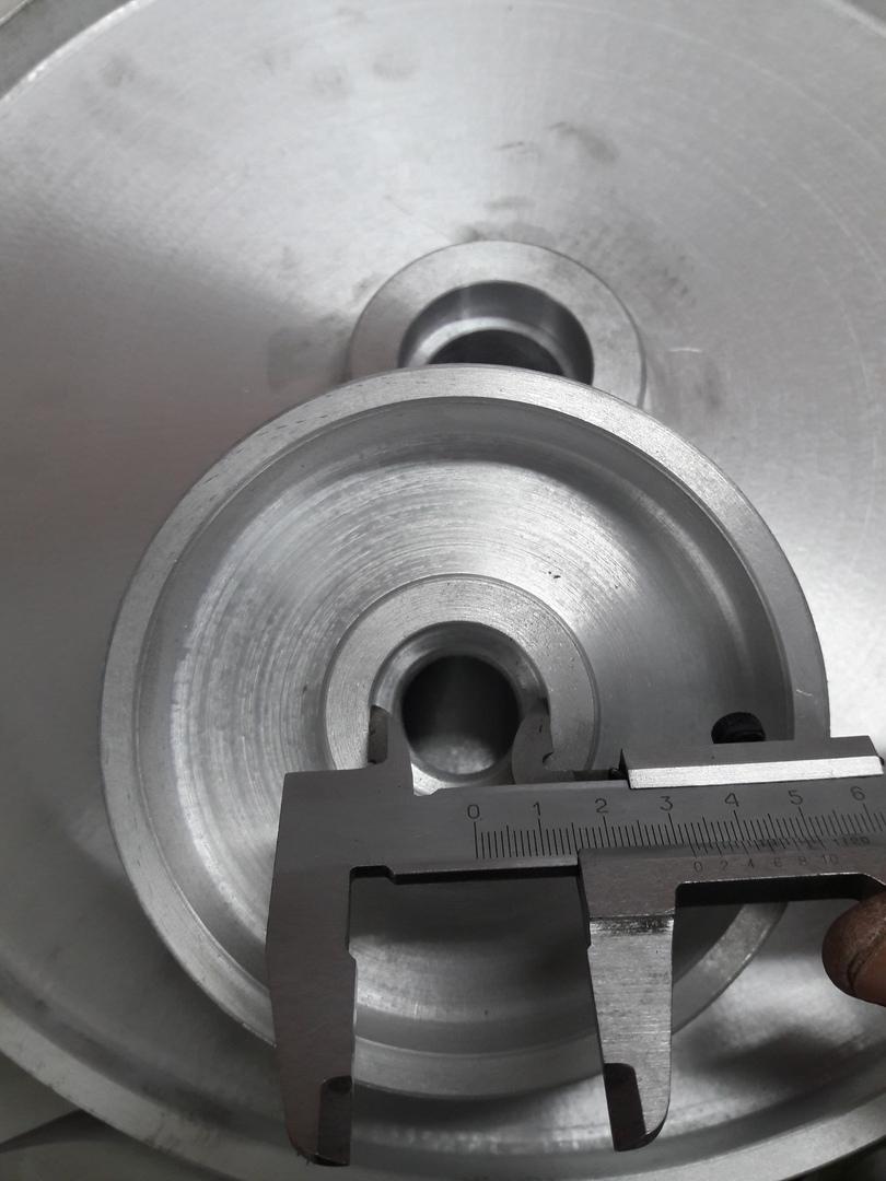 Для бесконечной шлифовальной ленты в кольце. Отличная балансировка колес. Отсутствует биение и вибрация.  Контактное колесо. Шлифовальное колесо.