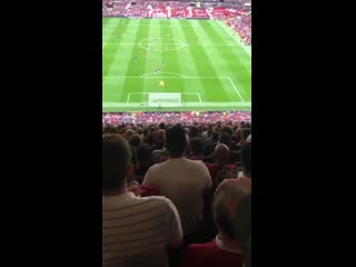 Rashfords second goal! Absolute scenes in the Stretford End MUFC