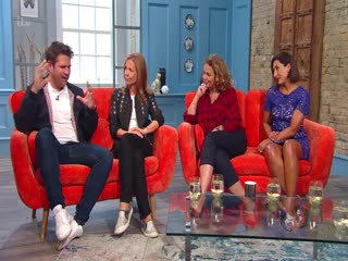S01E40 Loose Women's Nadia Sawalha and Saira Khan and top author Adele Parks, with live music from Scouting for Girls