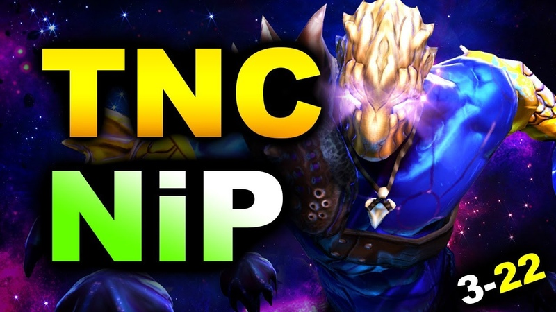 TNC vs NiP - 3-22 GG! - ESL One Hamburg 2019 DOTA 2