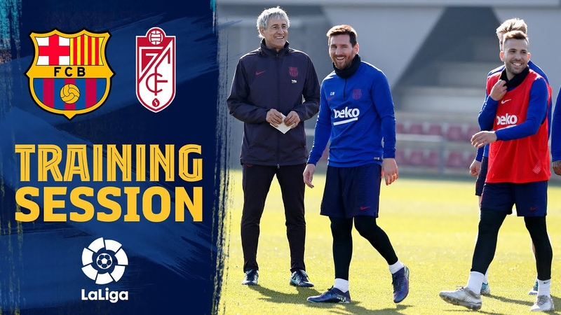 The hard work continues on the training pitch as focus turns to Granada clash