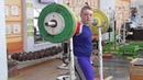 Новокрещенов Тимофей 12 лет Приседания 75 кг 3 по 2 раза