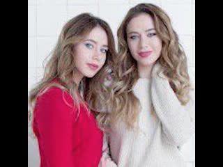 Сёстры-близняшки стали фотомоделями после того, как одна из них спасла другой жизнь