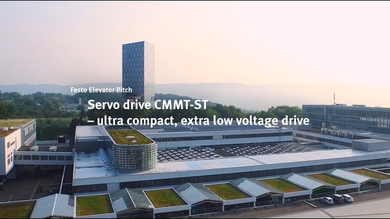 The Festo Elevator Pitch Servo drive CMMT-ST