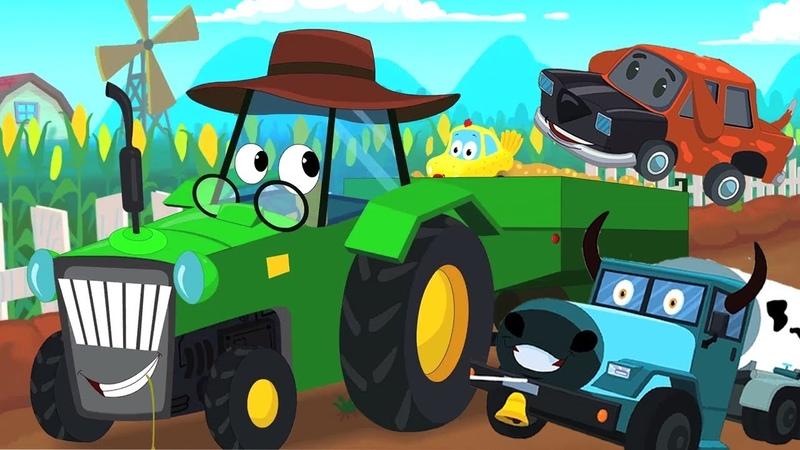 Старый Макдональд фермерские рифмы Звук животных Old MacDonald Had a Farm