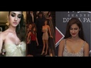 Disha Patani Gorgeous Looks in Golden Dress at DLF Mall of India Launch of MAC Cosmetics