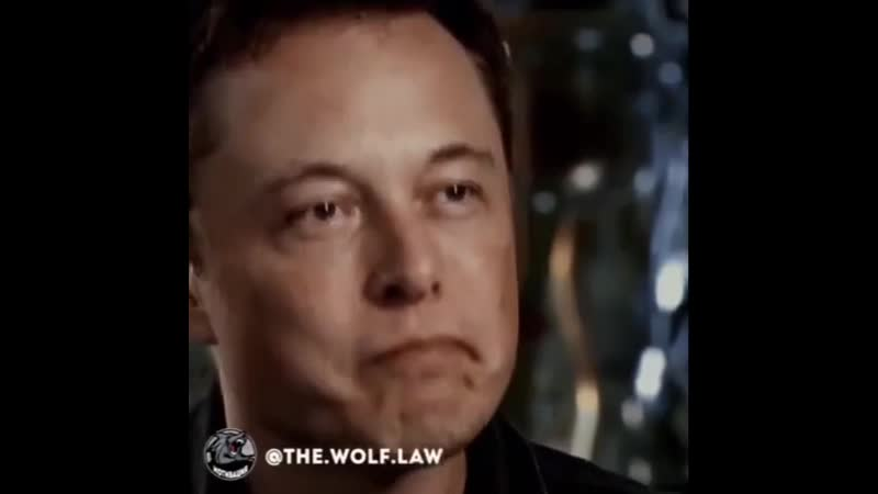 Elon Musk almost crying