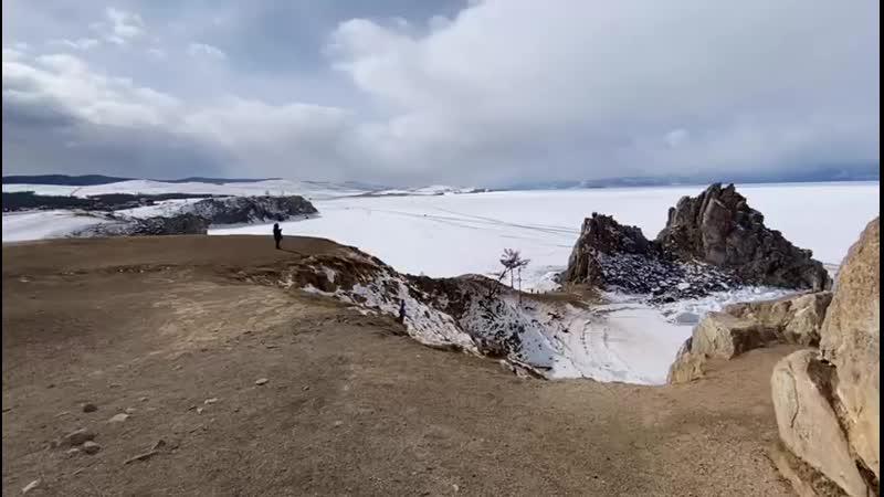 Кайтинг на Байкале Малое море Остров Ольхон Настя Королёва и Алексей Федосов
