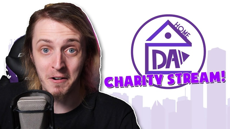 WE'RE DOING A CHARITY STREAM! | DAHome Charity Event! HopeFromHome