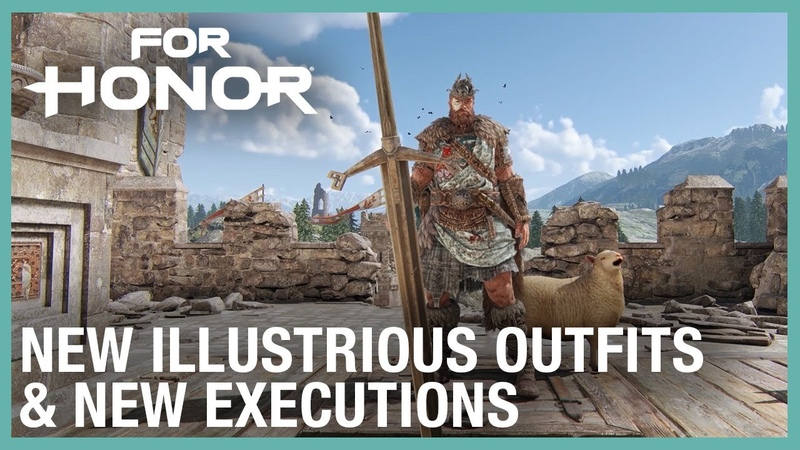 For Honor New Illustrious Outfits Executions Weekly Content Update 08 06 2020 Ubisoft NA