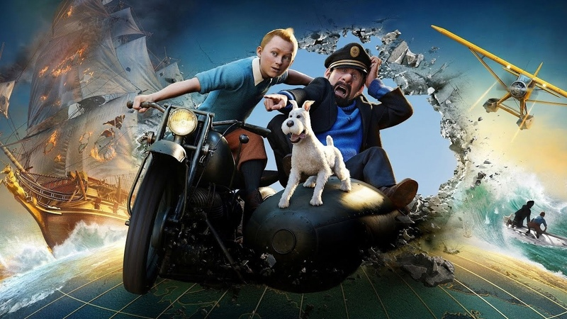 Приключения Тинтина Тайна Единорога 2011  русский трейлер
