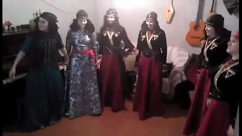 Georgian dance, Machachela 2017 y. | ქართული ცეკვა, მაჭახელას ხეობა, 2017 წ.