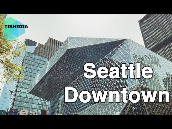 Walking around Spring St and 5th Ave to Columbia St and 5th Ave【4K】, Seattle Downtown, Washington