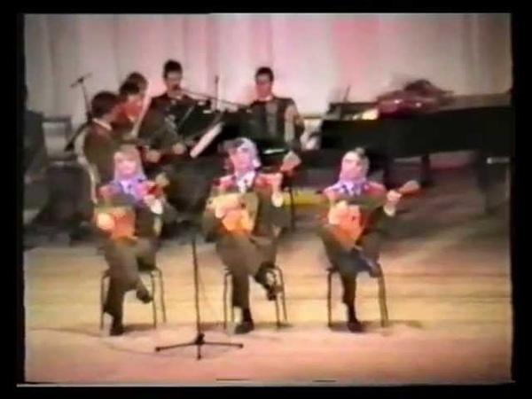Вюнсдорф Wunsdorf Ансамбль песни и пляски ГСВГ ЗГВ 1992г