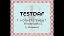 TestDaf | Hörverstehen (2)