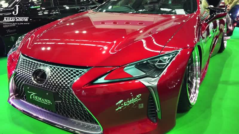 (4K)T-DEMAND LEXUS LC500 URZ100 ティーディメンド レクサスLC500 カスタム - OSAKA AUTO MESSE 2020