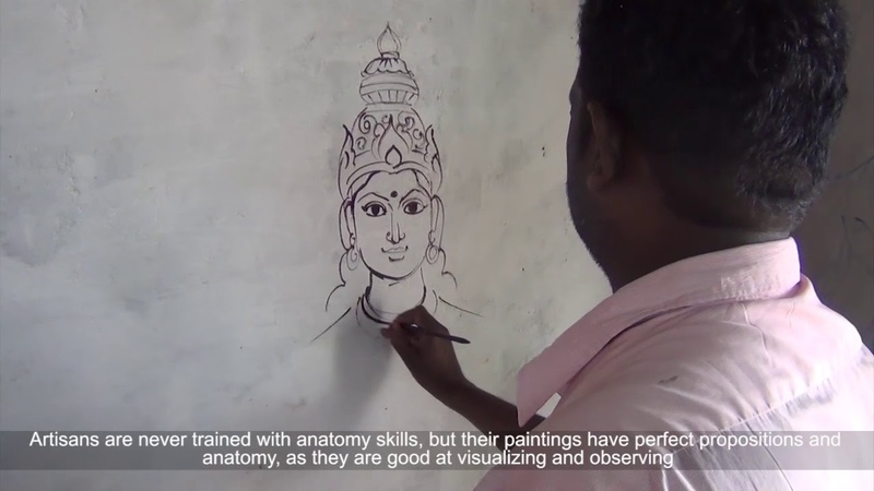 Traditional Painting Madurai Tamil Nadu