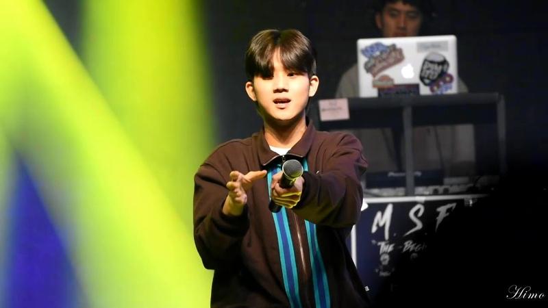 2019.10.26 M.S.F 단독콘서트 안병웅(병웅),전우성(칠린호미,Chillin Homie) - 오리지날 싸이퍼