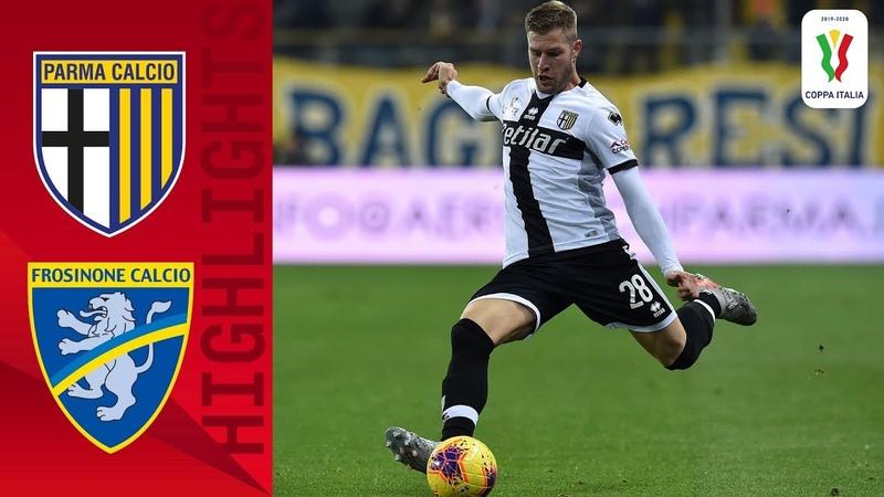 Coppa Italia, Parma - Frosinone 2:1