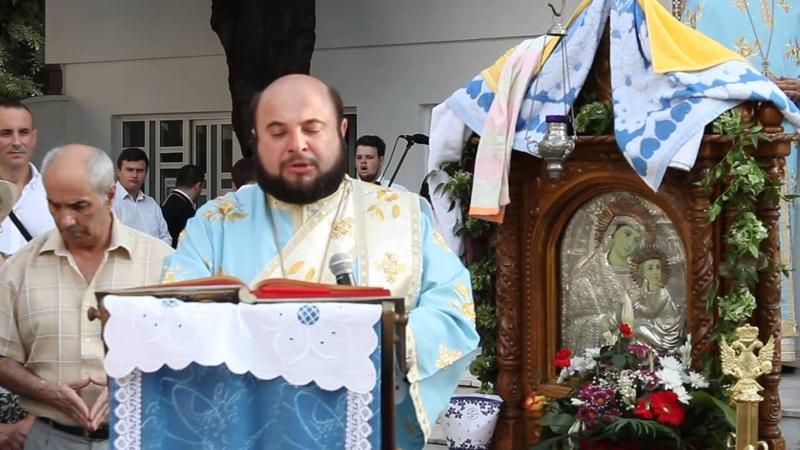 Pr.Protodiacon Ioan Ardelean, Evanghelia, Adormirea Maicii Domnului,Constanta,2013