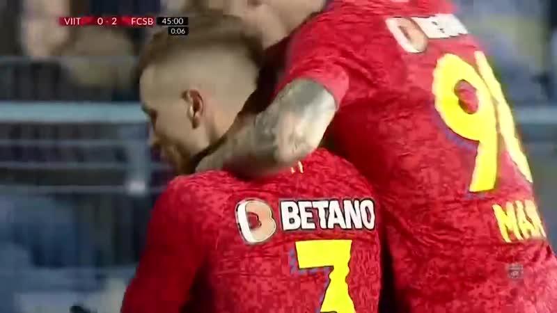 Rezumat FC Viitorul FCSB 0 2