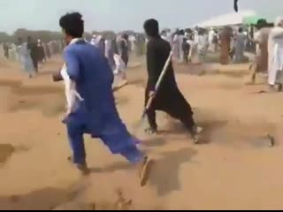 #necro_tv: В Пакистане жители вырвали посаженные деревья, так как это противоречит исламу