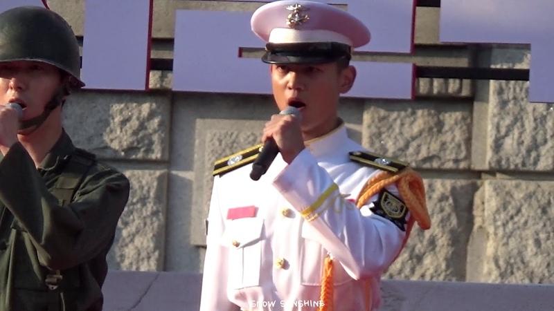 190928 69주년 서울 수복 해병대 기념행사 민호 해병대 군가