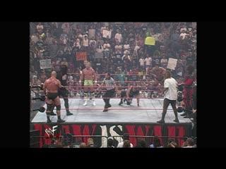 WWF  - Kane & Mankind vs Steve Austin & Undertaker vs New Age Outlaws vs the Rock & D'Lo Brown