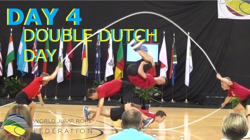 World Jump Rope 2018 Day 4 Double Dutch DDC Fusion and Michael Phelps