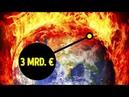 Ein 3 Mrd € Plan um den Planeten vor dem Super Vulkan zu retten