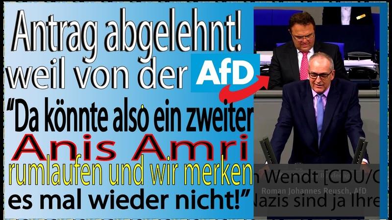 Roman Reusch AfD: Rückkehrer ausbürgern! Altparteien schützen lieber sich selbst als die Bürger!