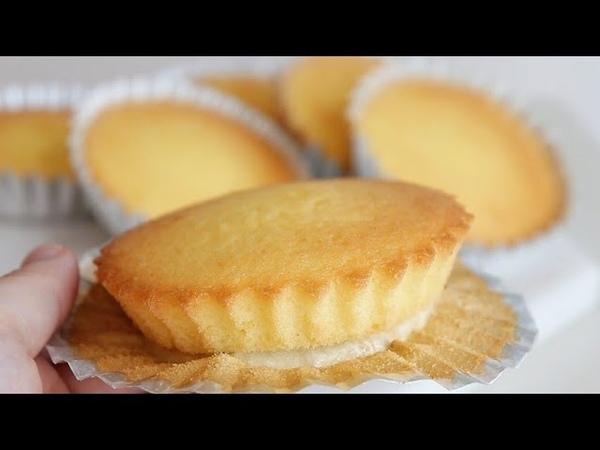 How to make fluffy soft Japanese lemon madeleine Madeleine Recipe