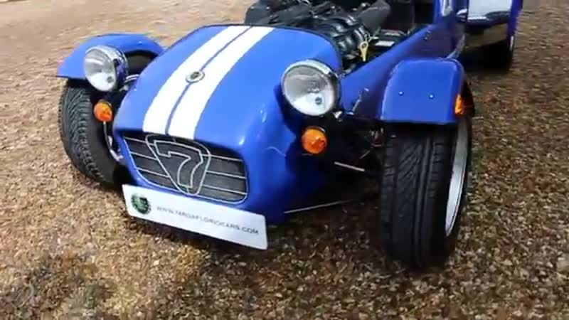 Caterham Super Seven 1600 Sports Manual in Blue with Black interior