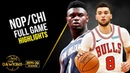 New Orleans Pelicans vs Chicago Bulls Full Game Highlights October 9 2019 FreeDawkins