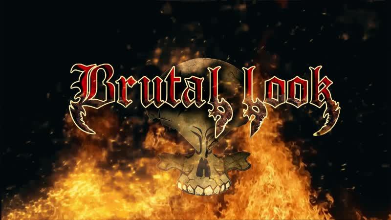 Brutal look logo