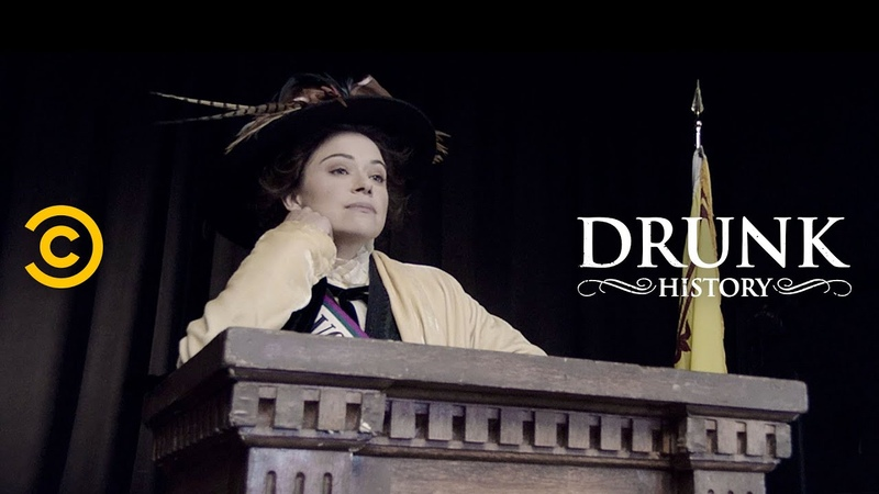 """Suffragettes Learn to Fight with Suffrajitsu"""" feat Tatiana Maslany Drunk History"""