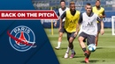 BACK ON THE PITCH with Ander HERRERA and Kylian MBAPPE