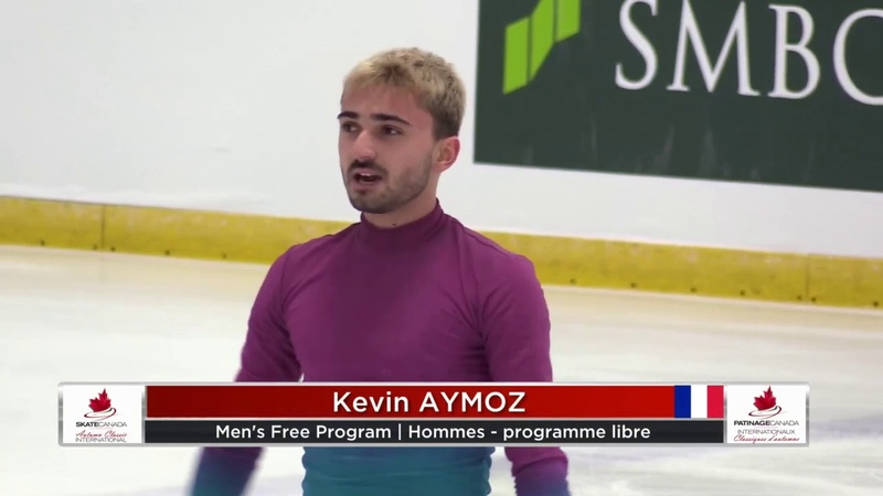 Kevin AYMOZ FRA Free Skate 2019 Autumn Classic International
