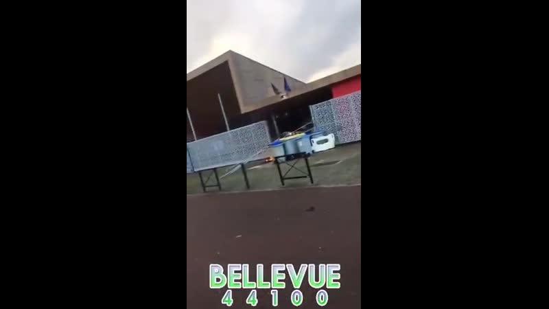 Nantes 44 Des jeunes crament leur lycée tout neuf