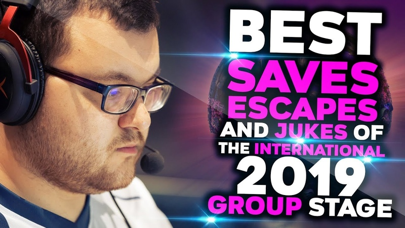 BEST Saves Escapes Jukes of TI9 Group Stage Dota 2