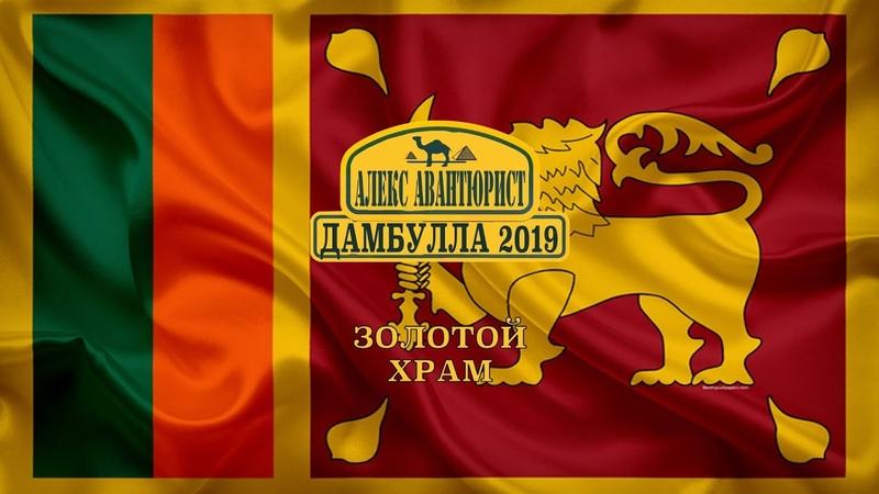 Дамбулла 🇱🇰 Золотой храм Шри Ланка Инструкция к посещению 💯Алекс Авантюрист