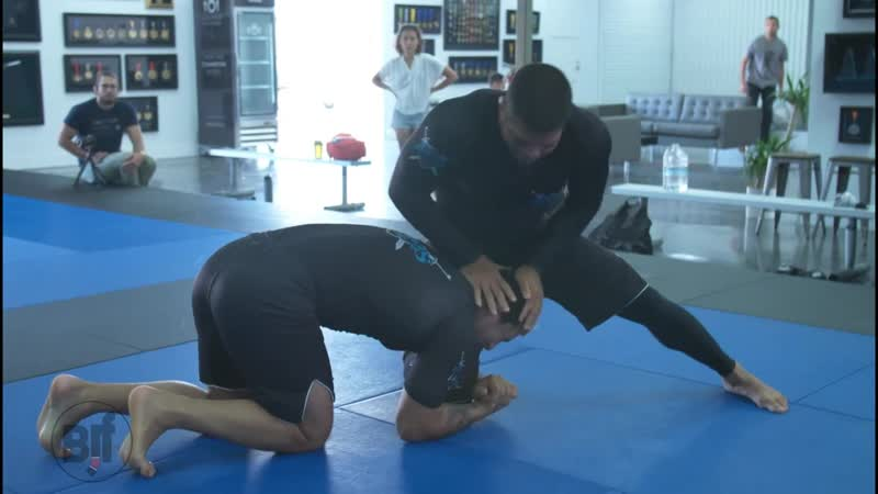 Andre Galvao Trains Takedowns With Lucas Barbosa bjf_rolling bjf_wrestling