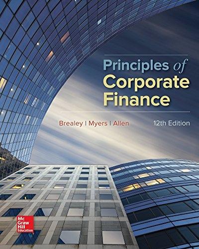 Richard A Brealey, Stewart C Myers, Franklin Alle