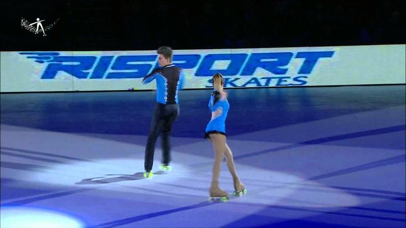 Irc 2013 Figure Skating Florencia Moyano Javier Anzil