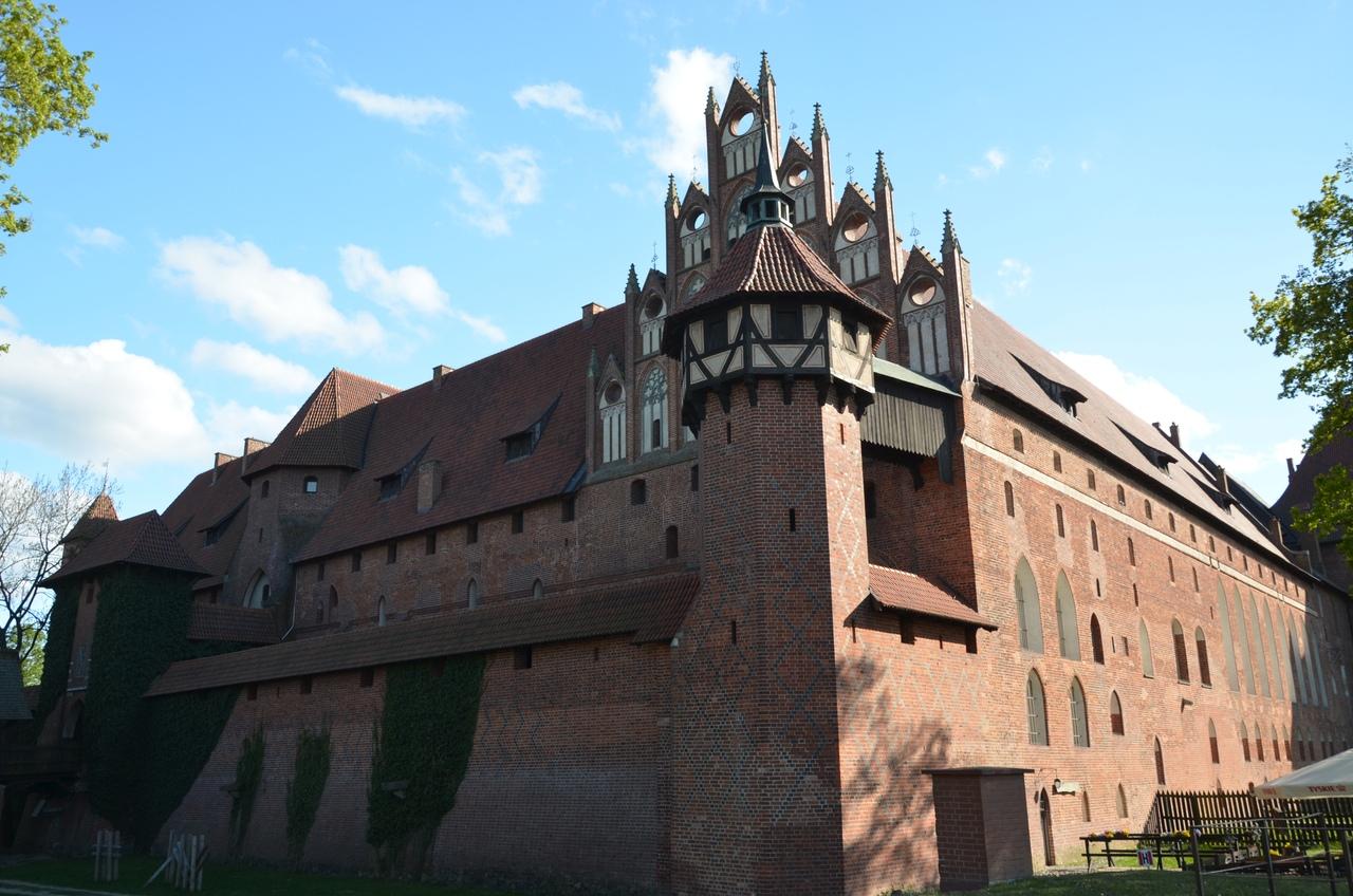 OHNqt08dK30 Мальборк - столица рыцарей в Польше.